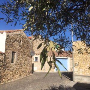 Picture of La Porta Blu in the historical center of Mogorella